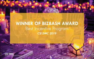 WINNER: 2019 BIZBASH AWARD