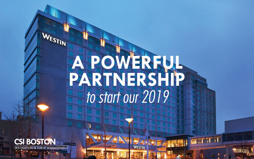 We're in-house at the Westin Boston Waterfront!