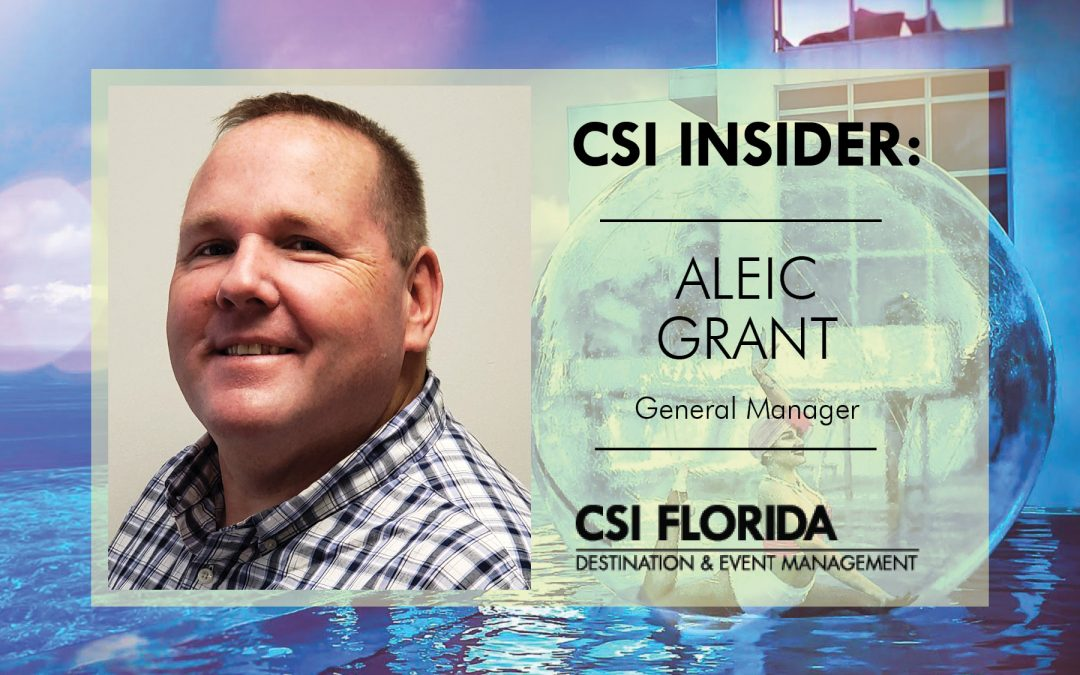 CSI Insider: Welcome Aleic Grant!