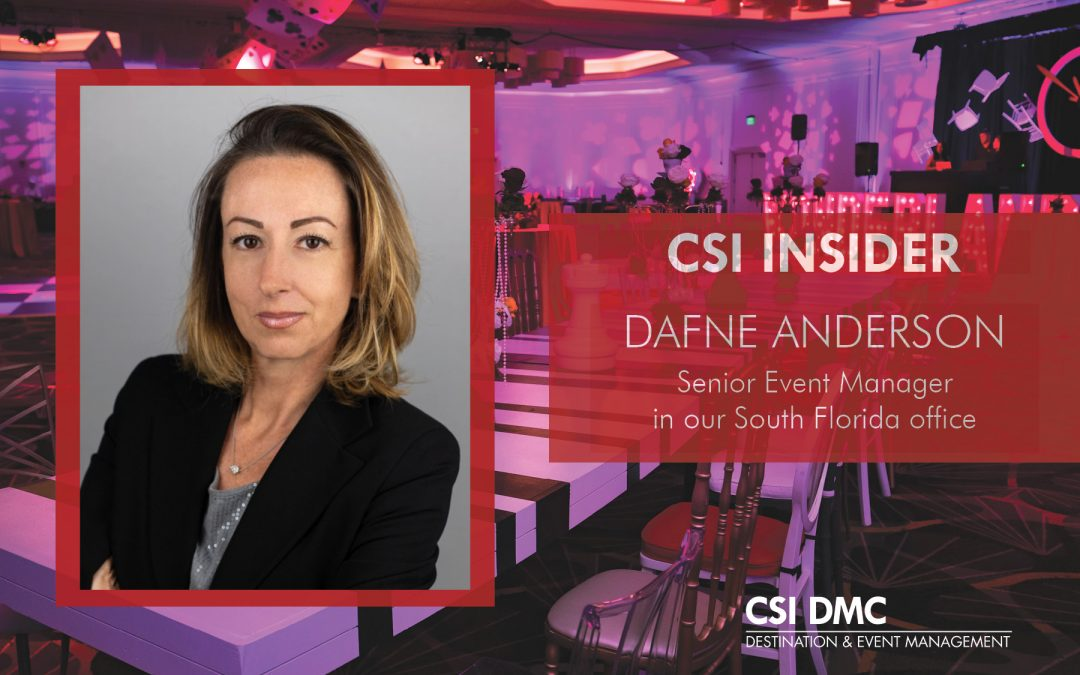 CSI Insider: Welcome Dafne Anderson