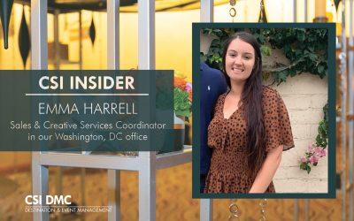CSI Insider: Hello Emma Harrell