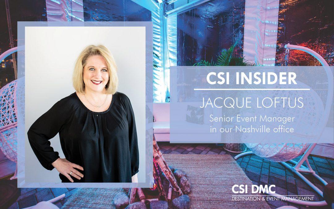 CSI Insider: Good Morning Jacque Loftus