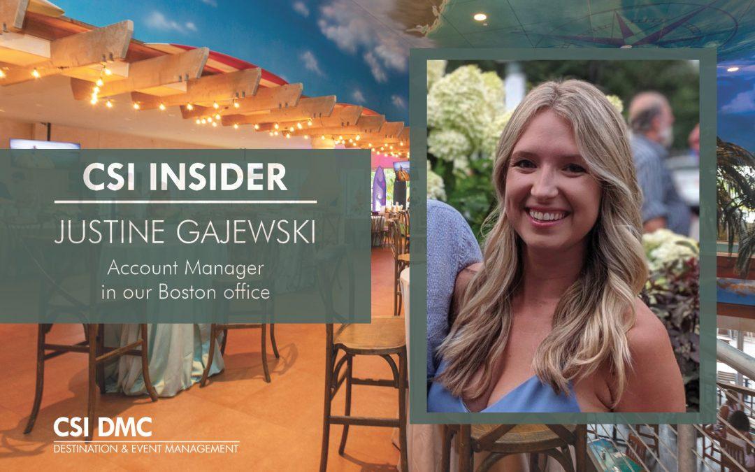 CSI Insider: Hello Justine Gajewski