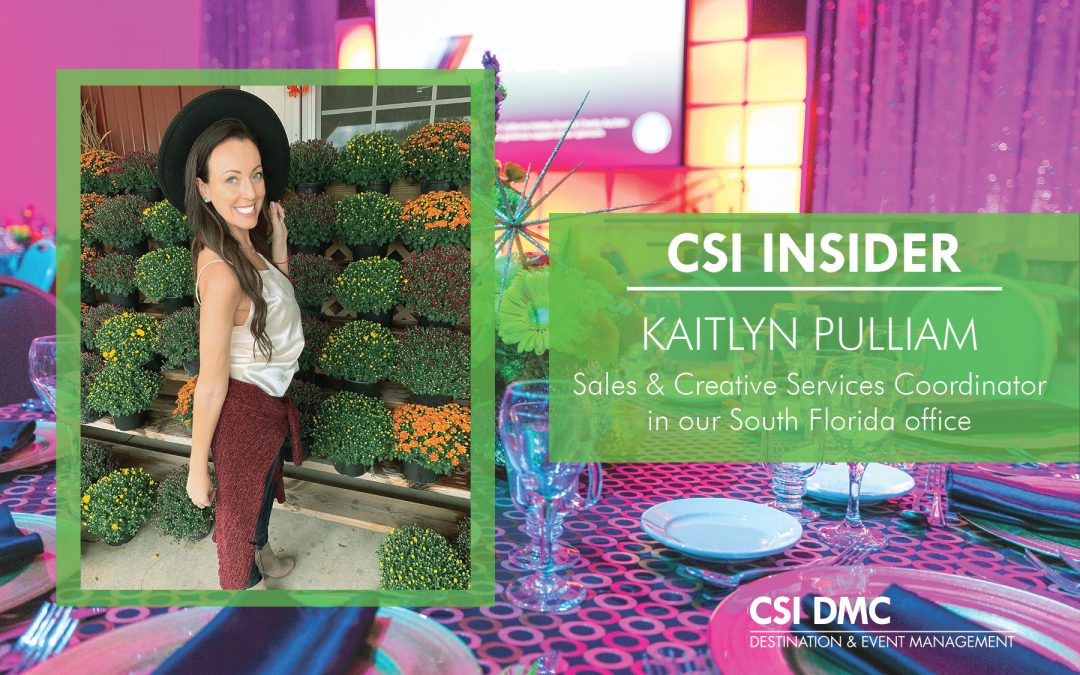 CSI Insider: Welcome Kaitlyn Pulliam