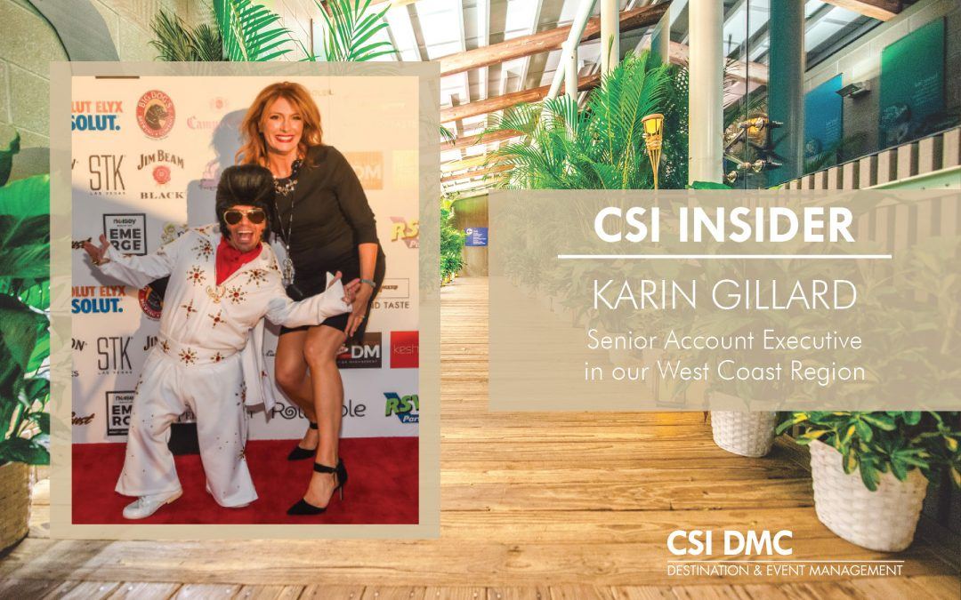CSI Insider: Welcome Karin Gillard
