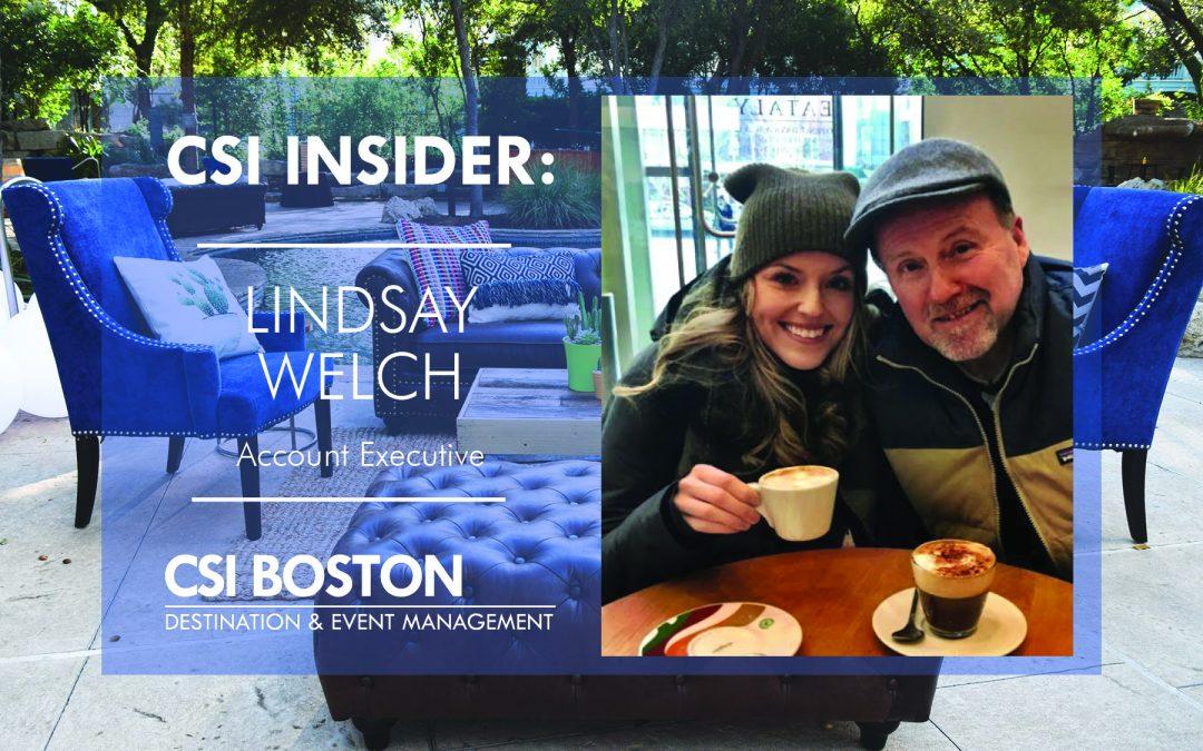CSI Insider: Good Morning Lindsay Welch!