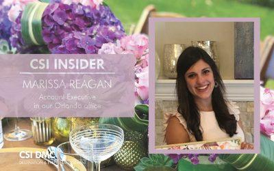 CSI Insider: Hello Marissa Reagan