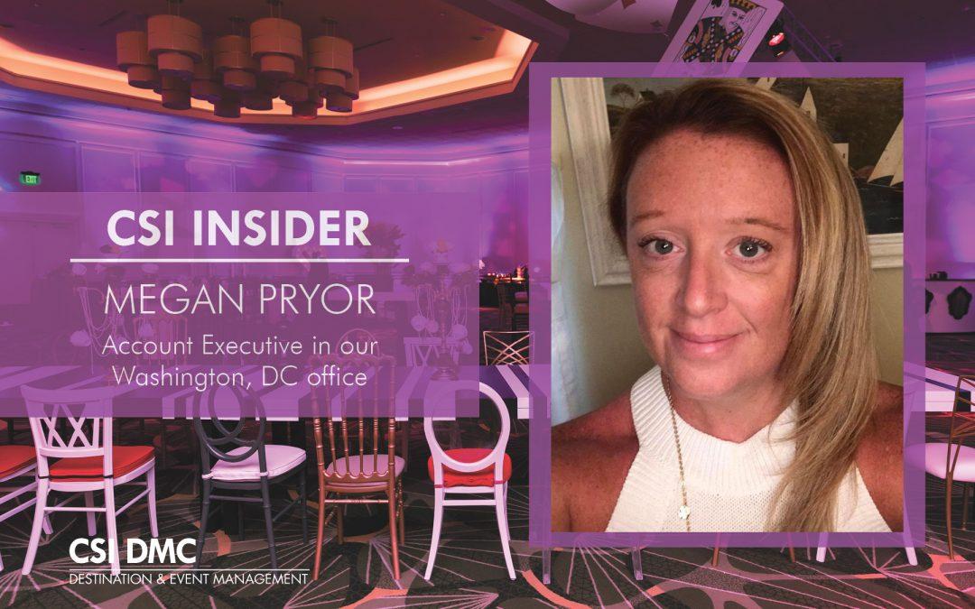 CSI Insider: Greetings Megan Pryor