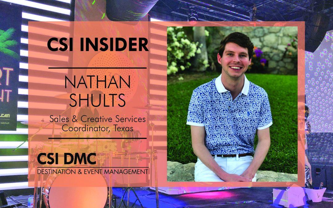 CSI Insider: Hello Nathan Shults!