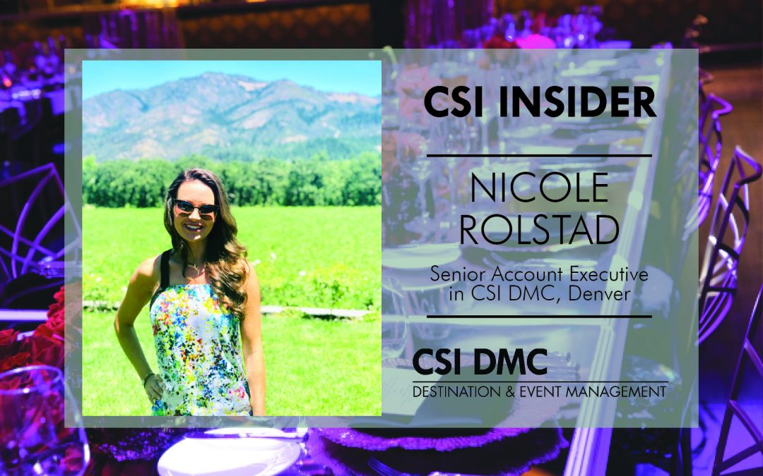 CSI Insider: Let's Welcome Nicole Rolstad!