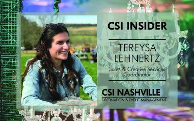 CSI Insider: Happy Monday Tereysa Lehnertz!