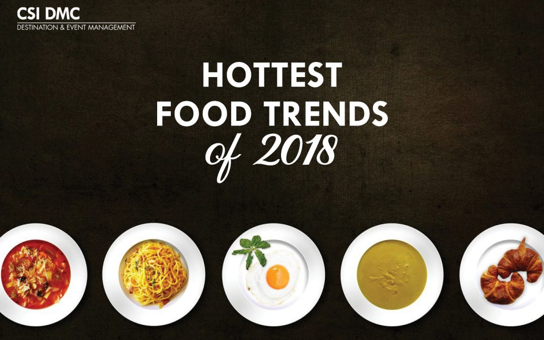 The Hottest Food Trends of 2019