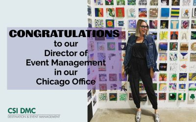 Morgan Alexander: You're The Director of Event Management!