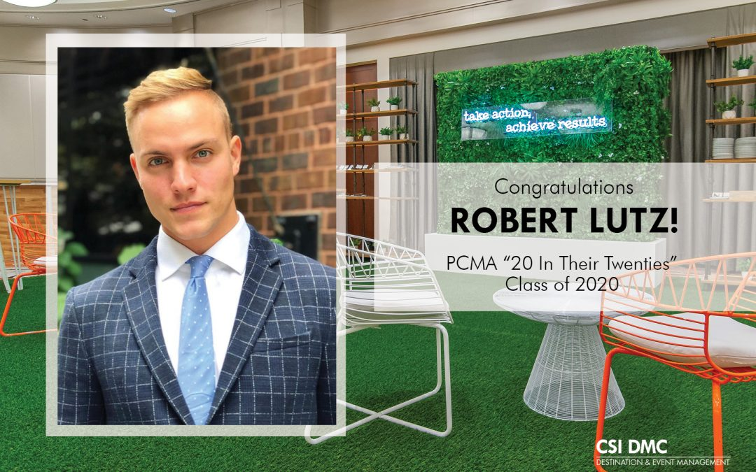 "Robert Lutz: PCMA ""20 in Their Twenties"" Winner"