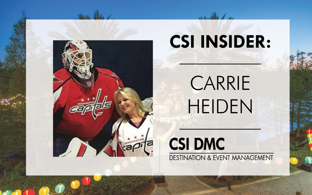 CSI Insider: On the Ice with Carrie Heiden of CSI DMC