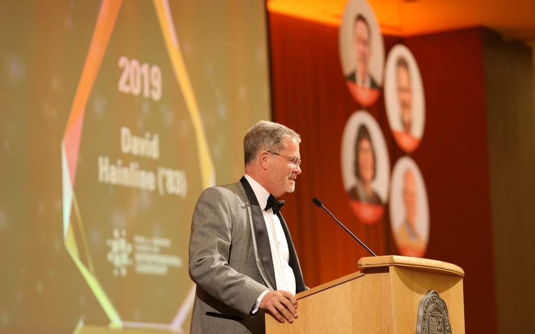 BGSU Entrepreneurial Leadership Hall of Fame: Congratulations David Hainline!