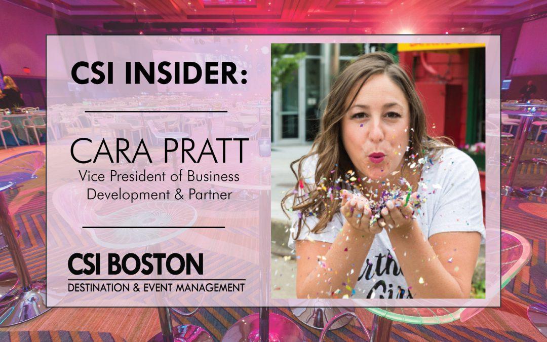 CSI Insider: It's Time to Party with Cara Pratt of CSI Boston!